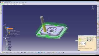 Catia V5 Part1 Machining (CAM) - CNC programming