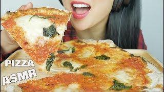 ASMR Neopolitan Margherita Pizza (EATING SOUNDS) NO TALKING | SAS-ASMR