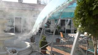 Туманообразование в Крыму.г.Саки(Системы тумана для кафе, бара или ресторана-отличное решение по снижению температуры в жаркое лето.Средний..., 2013-06-19T15:28:09.000Z)