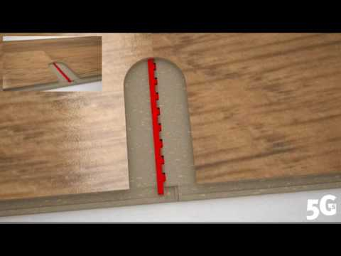 Valinge 5Gs Floor Installation Principle  YouTube