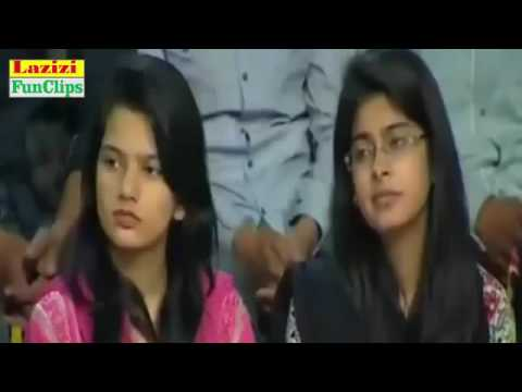 Best of Mazaaq raat with Raheem Shah very Funny CLip   YouTube
