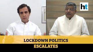 'Rahul spreading lies, weakening India's Covid battle': Ravi Shankar Prasad