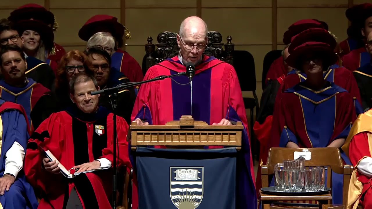 Dr. Jeffrey Koplan - UBC Vancouver Spring 2019 Honorary Degree Recipient