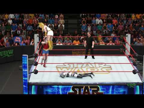 Lady Death vs. She-Ra vs. Wonder Woman (Star Wars IV, M4)