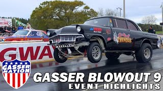 Gasser Blowout 9, Atmore, AL, Drag Racing Event Highlights