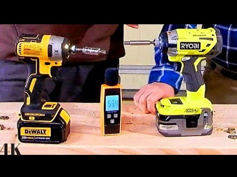 Ryobi Vs Dewalt Impact Driver Battle To The