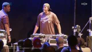 DJ Esquire vs. DJ Etronik || 2012 DMC U.S. Battle For Supremacy [Semifinal Round]