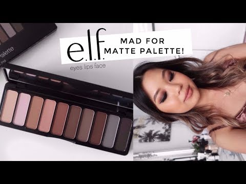 ELF MAD FOR MATTE PALETTE • 3 Looks, Review + Swatches