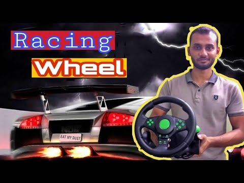 Unboxing & Review Cheap Price Best Racing Wheel (Bangla Review)