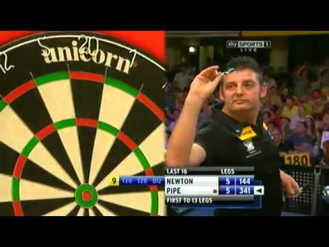 PDC World Matchplay 2012 Pipe vs. Newton (Round 2)
