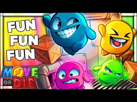 THE FUNNIEST GAME EVER THAT WILL RUIN OUR FRIENDSHIPS | Move Or Die Funny Moments Gameplay