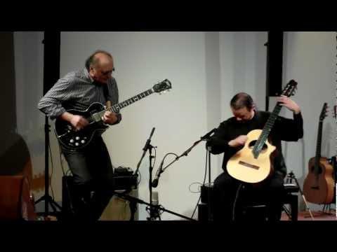 """Helmut """"Joe"""" Sachse & Uwe Kropinski - campus international - Leipzig 2012"""