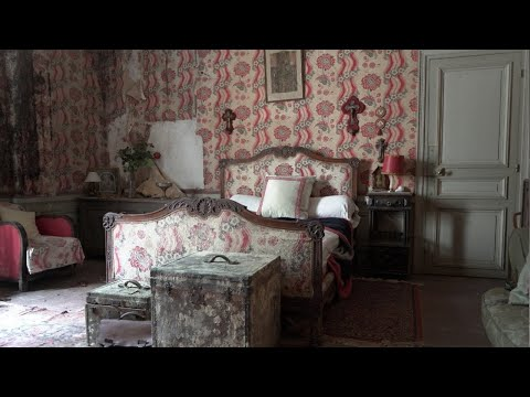 Abandoned 19th Century Victorian Castle True Timecapsule EVERYTHING LEFT!