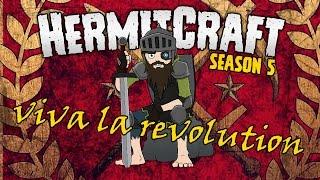 HermitCraft 5 | VIVA LA REVOLUTION ❗👊❗ | #vivalarevolution