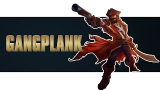 League of Legends -  Gangplank (Season 4: BR)