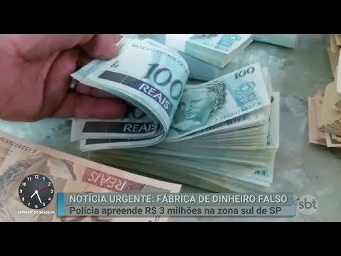 Mais de R$ 3 milhões em notas falsas são apreendidos em São Paulo | Primeiro Impacto (14/03/18)