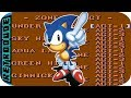 Sonic the hedgehog 2 game gear -  level select cheat