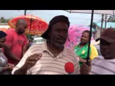 San Fernando Government School Parents protest racist new principal - Mar. 12, 2015 - Trinidad