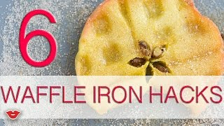6 Waffle Iron Hacks | Alison from Millennial Moms