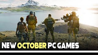 7 New Pc Games Coming In October 2019 That You Need To Know About!