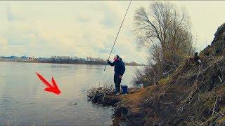УУУХ! ОН МНЕ СЕЙЧАС УДОЧКУ СЛОМАЕТ! Ловля на поплавочную удочку весной. Рыбалка по-Русову