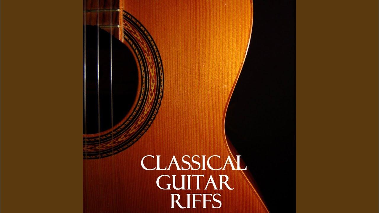 Consider, classical guitar lick