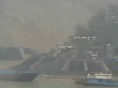 China - Coal Mines On The Yangtze River