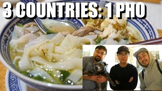 Homemade Pho: What a Vietnamese from America, England, and Australia Did Together in London.