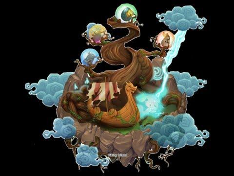 Dragon City Isla vikingo tercera fase