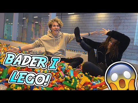 VI BADER I LEGO!! - Besøger Lego House