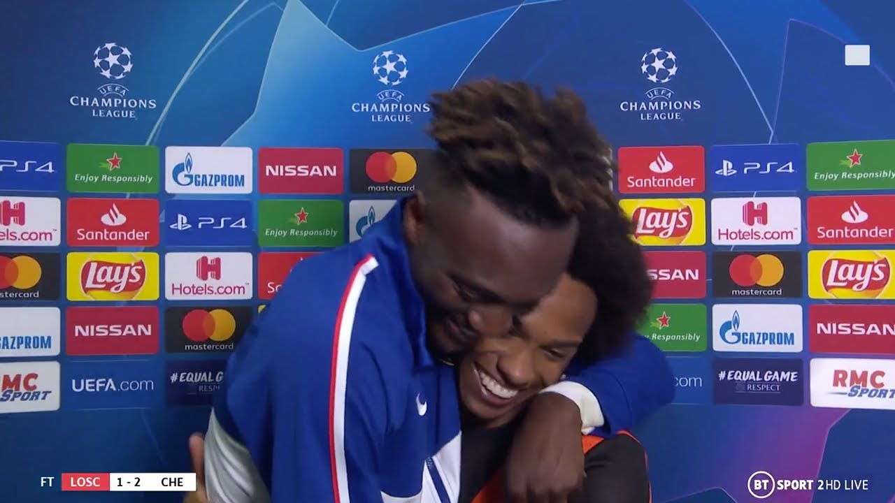 Download Willian and Tammy Abraham react to 'massive' Chelsea victory vs Lille