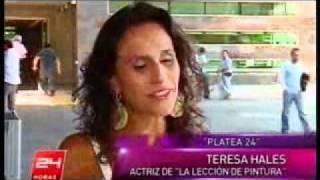 La lección de pintura - Entrevista a Pablo Perelman y Teresa Hales