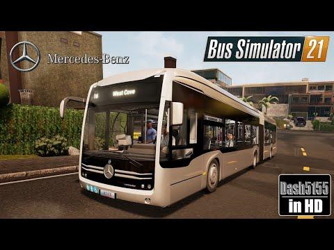 Vehicle Showcase: Mercedes-Benz eCitaro G - Bus Simulator 2021  