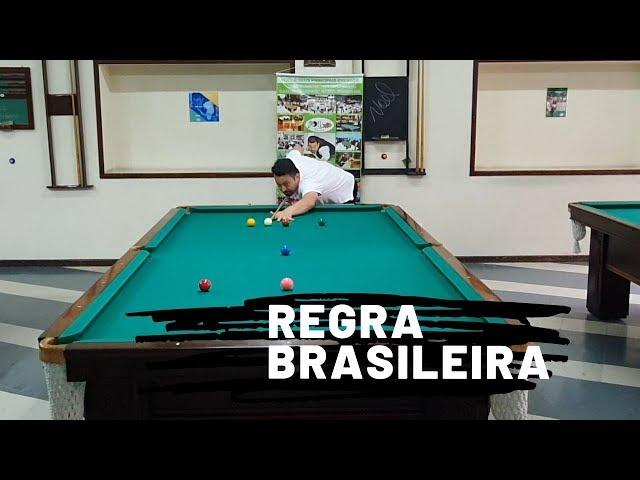 Sinuca - Regra Brasileira