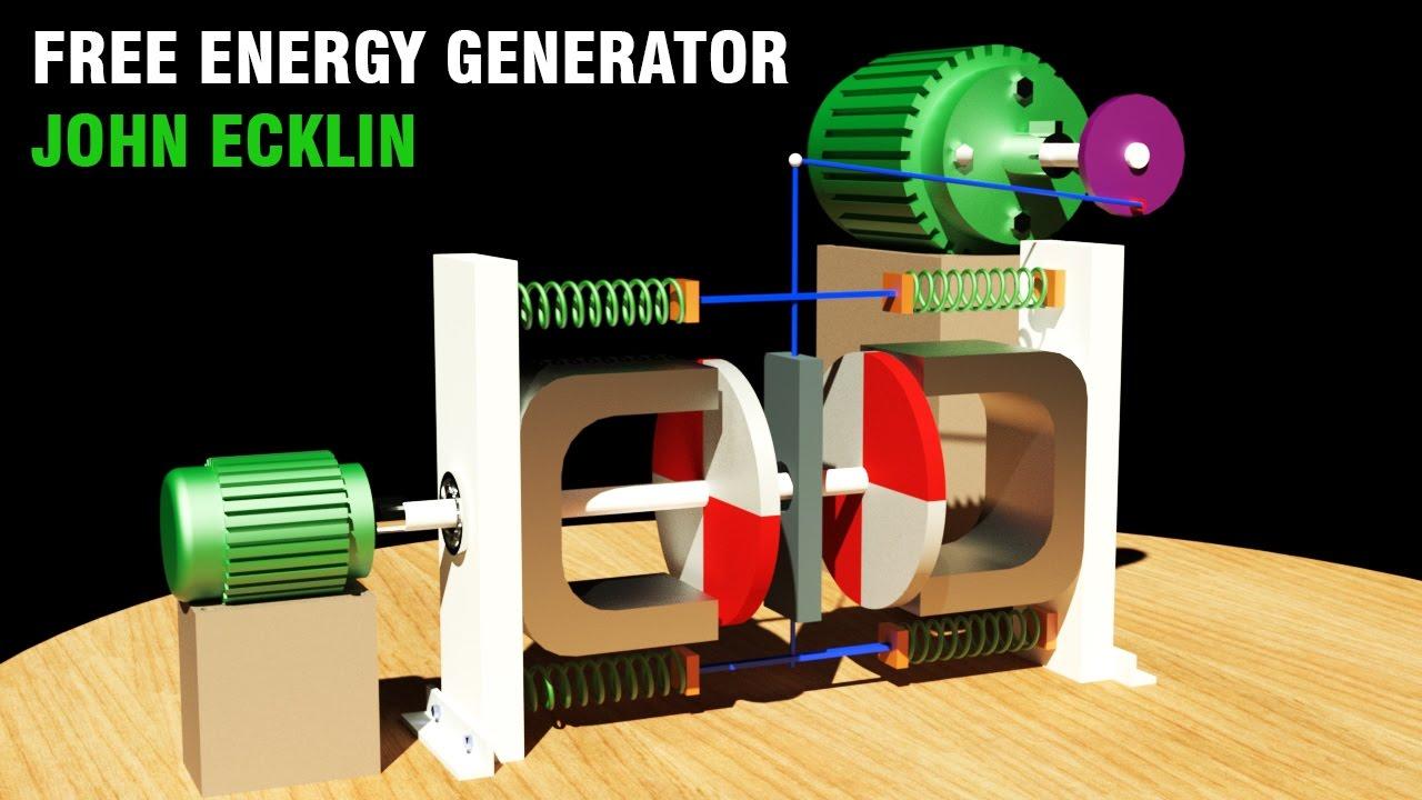 Free Energy Generator 2017 John Ecklin Magnetic Shielding Generator Youtube