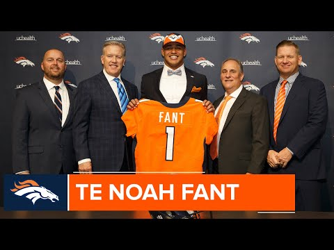 Noah Fant's introductory press conference