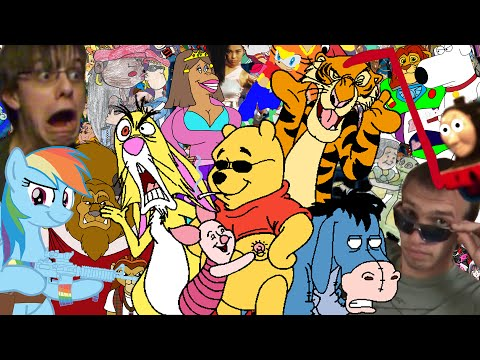 The Very First Pooh's Adventures CRINGE Compilation