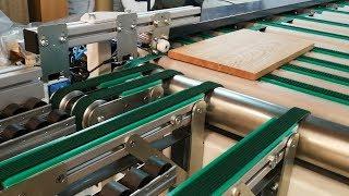 RT2014 Edgebander return Conveyor. By Dynma