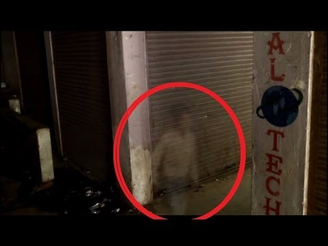 ghost caught on tape at abandoned shopping mall scary
