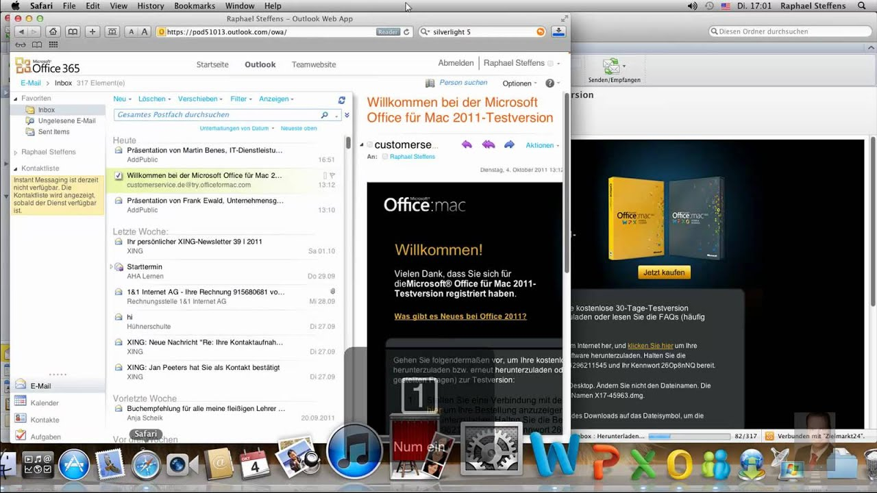 Microsoft office365 und mac os x lion youtube - How to get office for mac ...