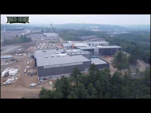 Rock Ridge High School August Construction Flyover