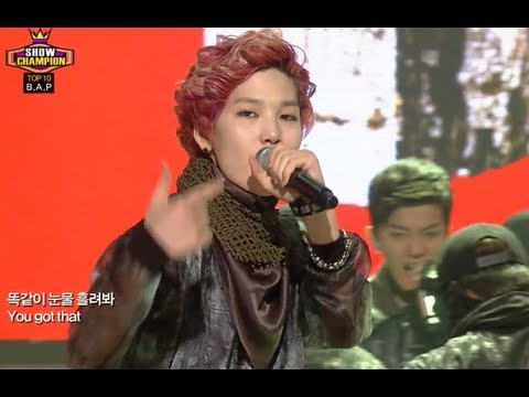 B.A.P - Badman, 비에이피 - 배드맨, Show Champion 20130904