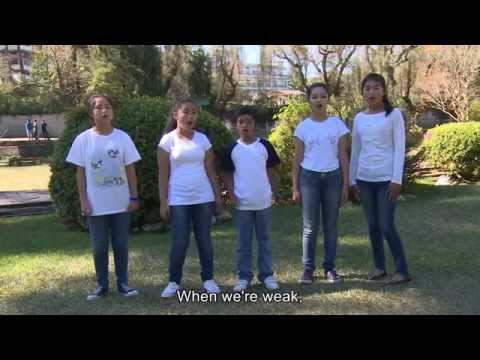Strong in the Lord (Children Song) - The Call 2014