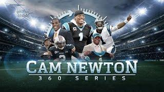 Cam newton: from junior college to mvp   cam newton 360   move the sticks   nfl