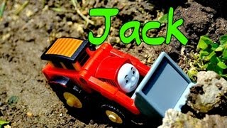 Thomas The Tank Engine And Friends Character JACK - Wooden Railway Toy Trains Review