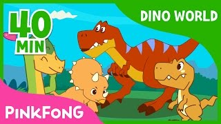 Dino World  T-Rex and more   Compilation  Dinosaur Musical  Pinkfong Stories for Children