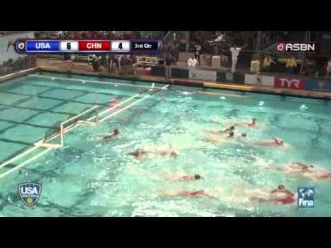 US Women's National Team vs. China (2014 FINA World League Prelims)