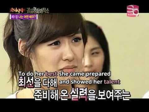 SNSD - Tiffany's Acting