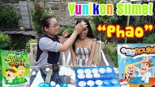 Thử Thách Đập Quả Trứng Slime Baff Với Em Gái YunikonSlime