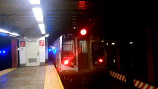 [MTA]: Metropolitan Avenue Bound R160 (M) Train Departing @ Delancey Street/Essex Street